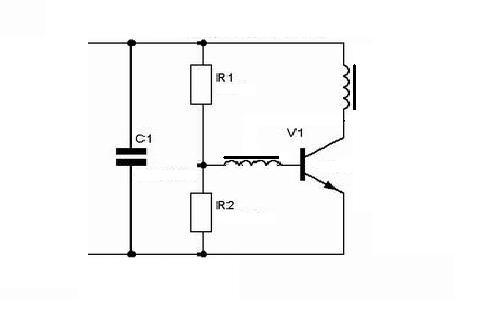 Блокинг-генератор - достаточно лёгкий в создании высоковольтный девайс .Его схема приведена ниже.